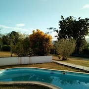 Bungalow With one Bedroom in Lamentin, With Pool Access, Enclosed Garden and Wifi