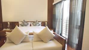 1 間臥室、書桌、免費有線上網、床單