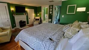 Premium bedding, down comforters, memory foam beds, blackout drapes