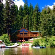 Beautiful Lakefront Cabin On Lake Inez