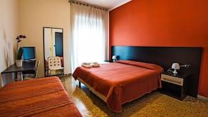Premium bedding, desk, soundproofing, free cribs/infant beds