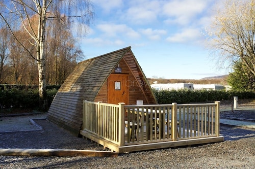 Braidhaugh Wigwams Sleep up to 4 Persons, 2 Adults are Included