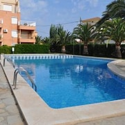 Apartment With 2 Bedrooms in Dénia, With Wonderful Mountain View, Pool Access and Enclosed Garden - 300 m From the Beach