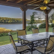 A Lakefront Oasis with a Pool and Dock: Begging for a BBQ!