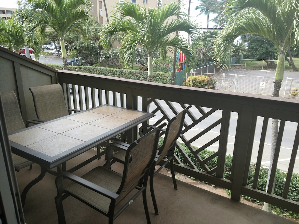 Balcony, Great Rates, Better View!