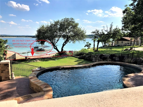 Lake Travis Waterview Resort Style Home With Pool Spa Sauna