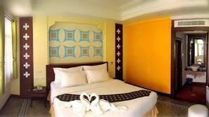 ผ้าม่านกันแสง, เตียงเสริม/เปล, บริการ WiFi ฟรี