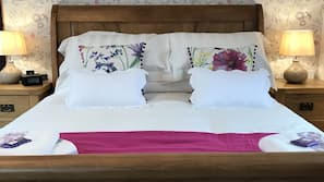 Egyptian cotton sheets, premium bedding, memory-foam beds, in-room safe