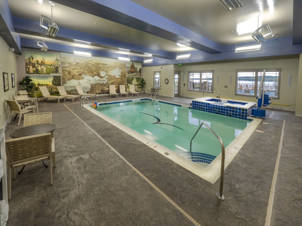 Indoor Pool, Chautauqua Harbor Hotel- Jamestown