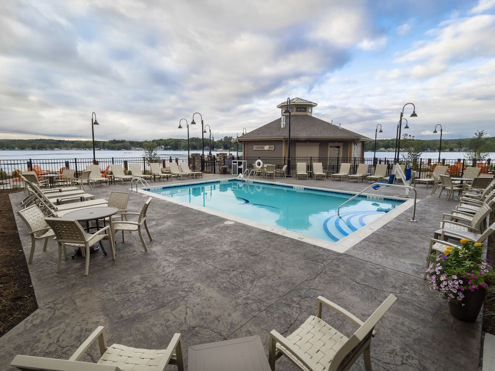 Outdoor Pool, Chautauqua Harbor Hotel- Jamestown