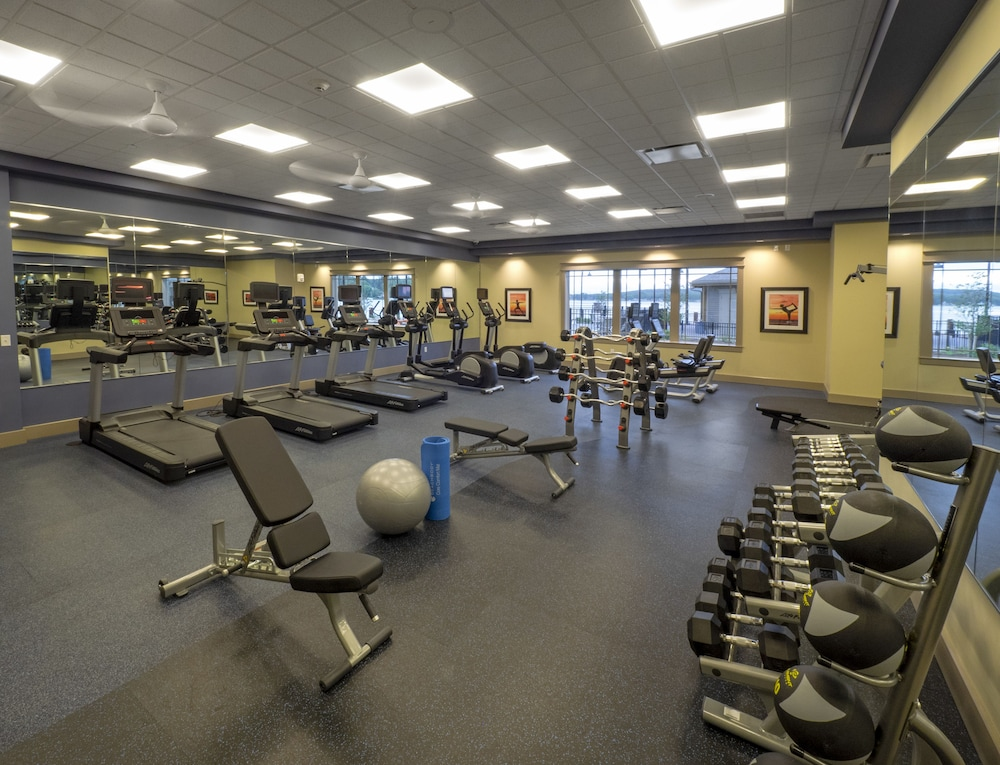 Fitness Facility, Chautauqua Harbor Hotel- Jamestown