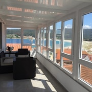 Apartment With 2 Bedrooms in Laxe, With Wonderful sea View and Furnished Terrace - 80 m From the Beach