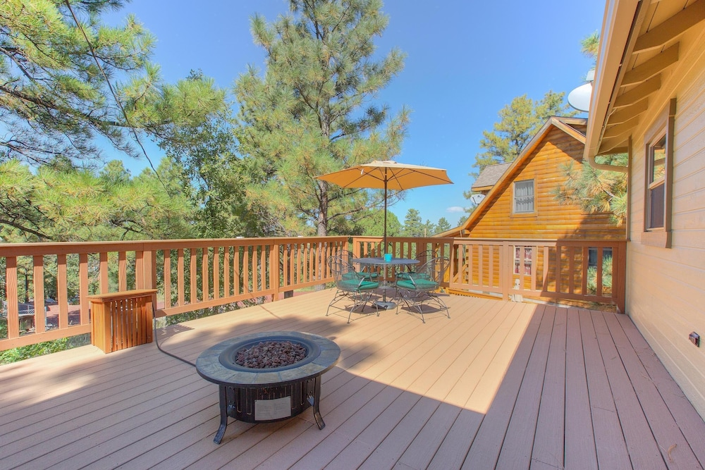 Grand Canyon Bbq.Super Clean Back Deck W Firepit And Bbq In Grand Canyon