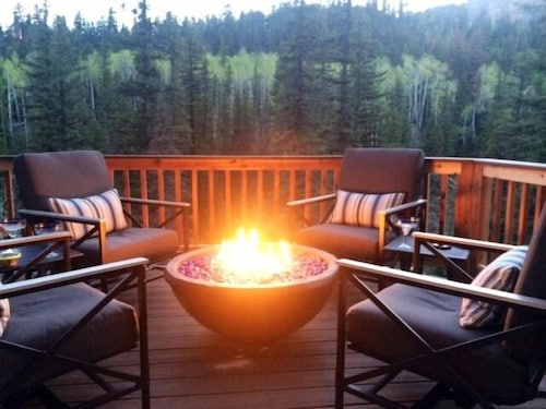 Luxury Mountain Cabin Overlooking Cascade Creek 7th Nite Free Reviews Expedia
