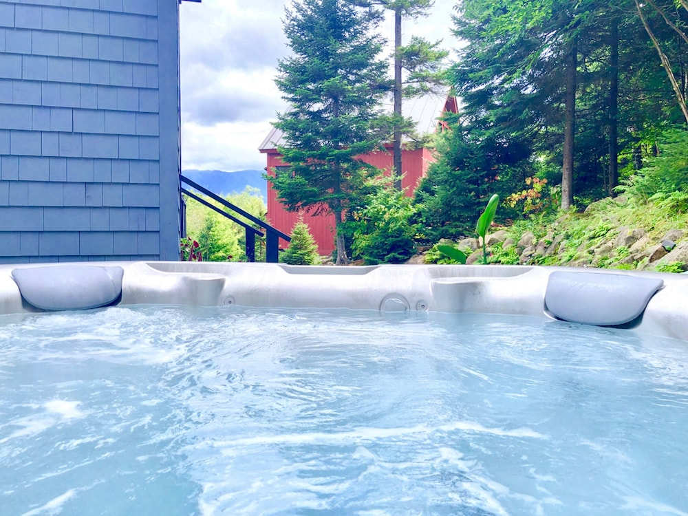 Private Spa Tub, Bretton Woods Mountainside Townhomes by Bretton Woods Vacations