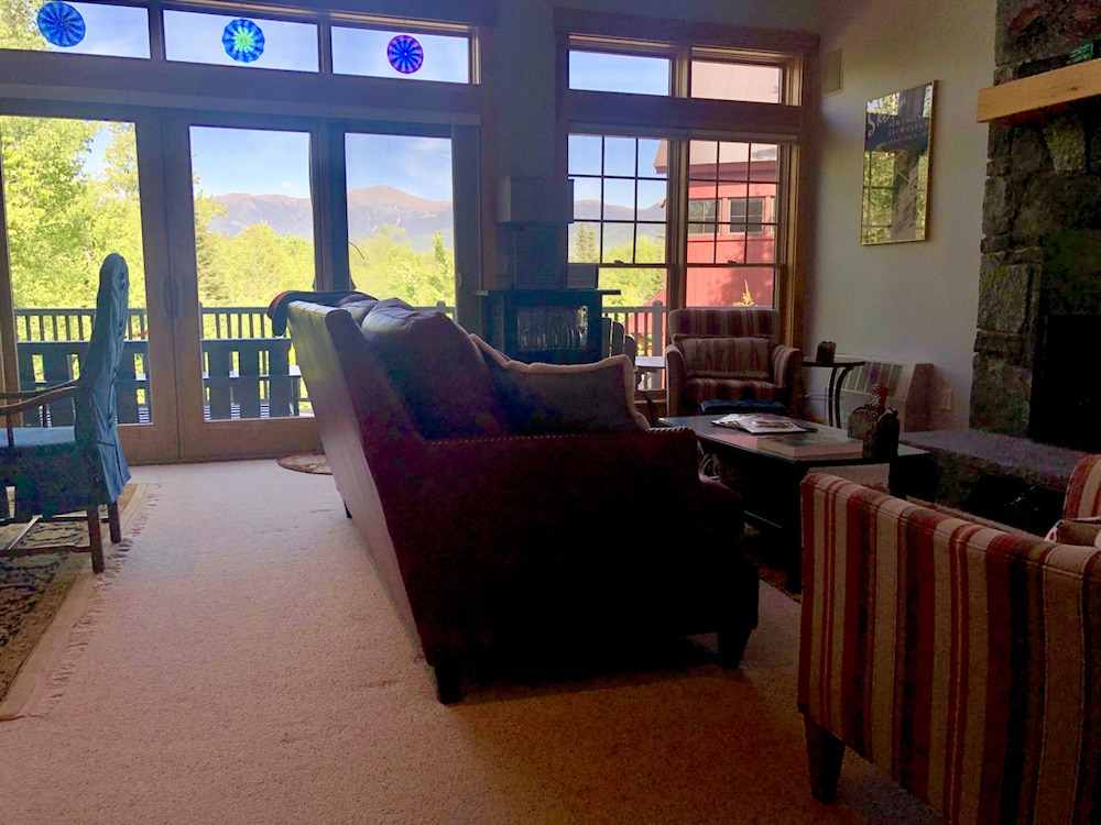Living Room, Bretton Woods Mountainside Townhomes by Bretton Woods Vacations