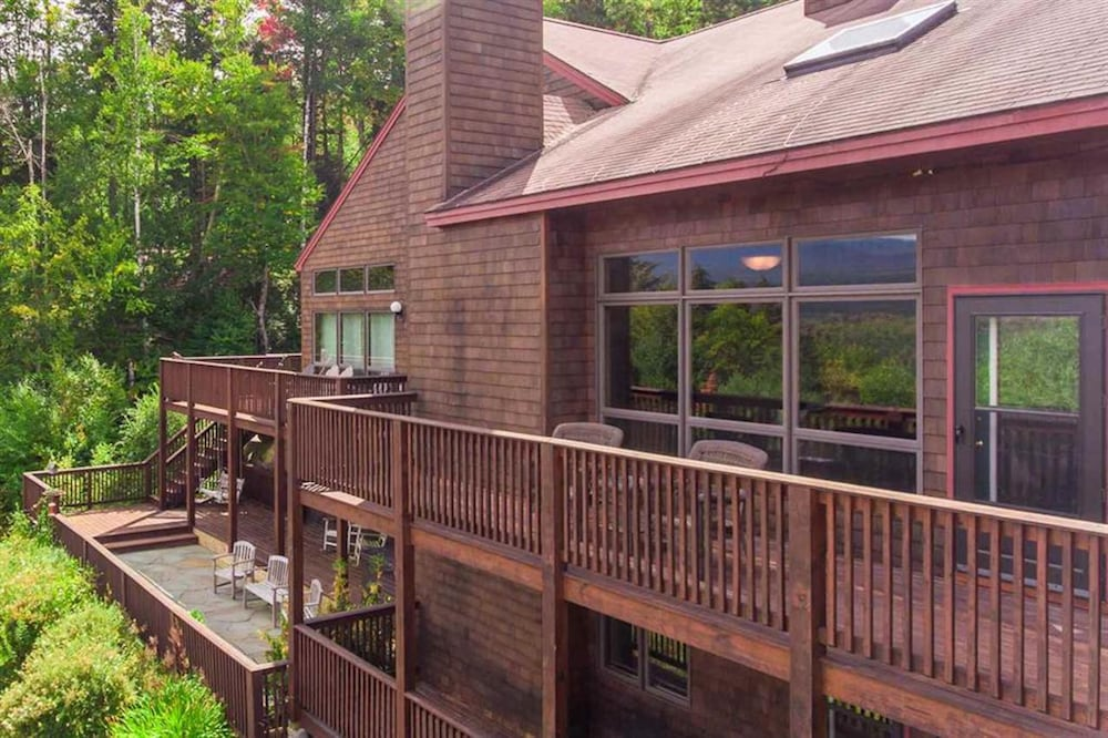 Terrace/Patio, Bretton Woods Mountainside Townhomes by Bretton Woods Vacations