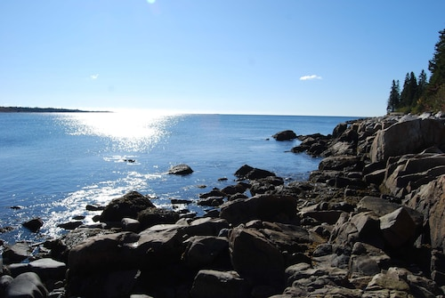 Great Place to stay Oceanfront Home With Crashing Surf in Schoodic/acadia 3 Bedrooms 2 Bathrooms Home near Prospect Harbor
