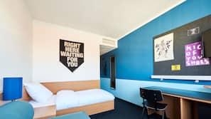 1 Schlafzimmer, Schreibtisch, schallisolierte Zimmer, kostenloses WLAN