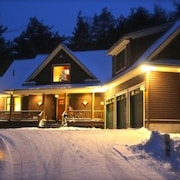 Adirondack Lodge Retreat Secluded Mountain Location