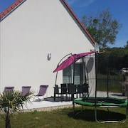 House With 3 Bedrooms in Barneville-carteret, With Enclosed Garden and Wifi - 1 km From the Beach