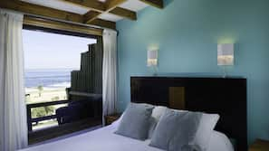 Cofres nos quartos, Wi-Fi de cortesia, roupa de cama