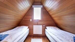 1 soveværelse, premium-sengetøj, mørklægningsgardiner
