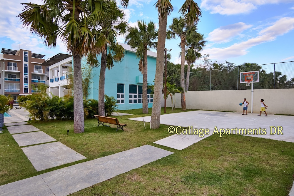 Property Grounds, Marvelous 3bd Apt 5 min From Airport w/ Pool View A/c, Wifi & Cable