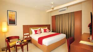 Premium bedding, free minibar items, in-room safe, blackout curtains