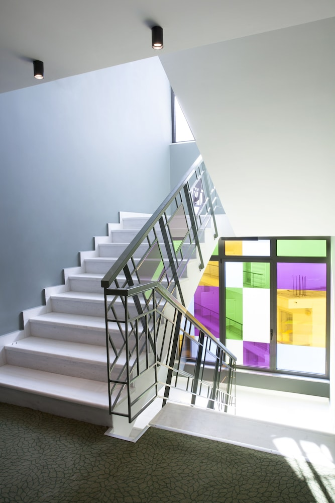 Staircase, Wyndham Athens Residence