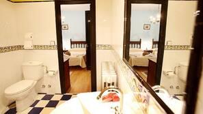 Artículos de higiene personal gratuitos y secador de pelo