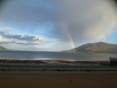 On The Beach. Next To The Balmoral Hotel. Stunning Views Of Carlingford Bay