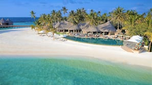 Private beach, scuba diving, snorkeling, beach yoga
