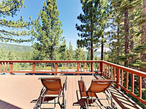 Charming 2br W/ Deck & Lake Views 2 Bedroom Home