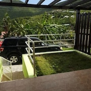 Apartment With one Bedroom in La Savane, With Wonderful Mountain View, Furnished Garden and Wifi - 2 km From the Beach