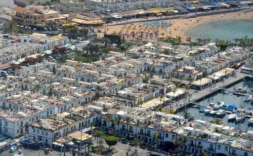 Viajes baratos a playa de mog n vuelo mas hotel playa de - Pension eva puerto de mogan ...
