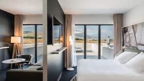 Pillow-top beds, minibar, in-room safe, blackout curtains