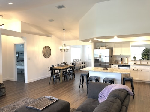 Check Expedia for Availability of Beautiful Completely Remodeled Home Across the Street From Lake June!