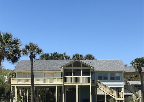 Ocean Views for Days and Best Beach Access @ Pelican Alley on Edisto Beach
