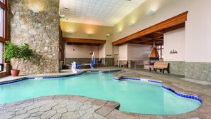 2 indoor pools, 2 outdoor pools