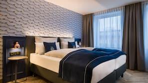 Allergikerbettwaren, Zimmersafe, schallisolierte Zimmer