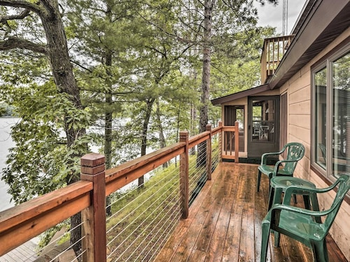 Great Place to stay New! Waterfront Home on Pipe Lake, Near Cumberland near Comstock