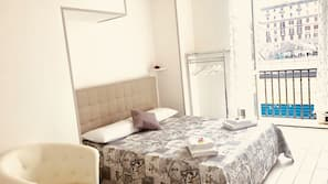Premium bedding, free minibar items, individually decorated