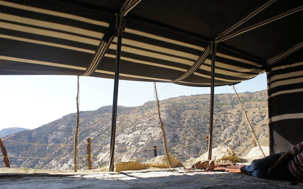 View from Property, Wadi Dana Eco-Camp And Lodge