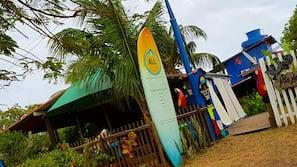 Am Strand, Sporttauchen
