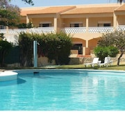 Apartment With 2 Bedrooms in Quarteira, With Wonderful City View, Pool Access, Furnished Terrace - 2 km From the Beach