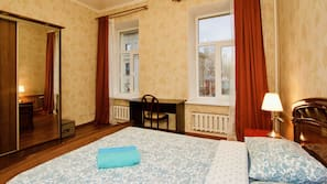 1 bedroom, iron/ironing board, free cots/infant beds, free WiFi