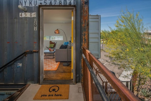 Great Place to stay 1BR Cargo Container A201 by WanderJaunt near Phoenix