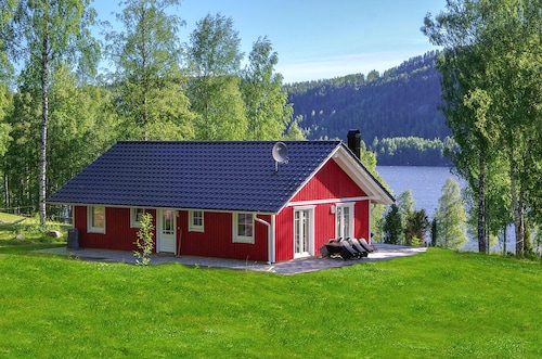 Luxury Sweden House in a Prime Location on Rottnansee own Shoreline
