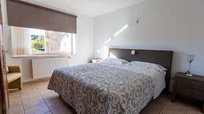 2 Schlafzimmer, schallisolierte Zimmer, kostenloses Internet per Kabel